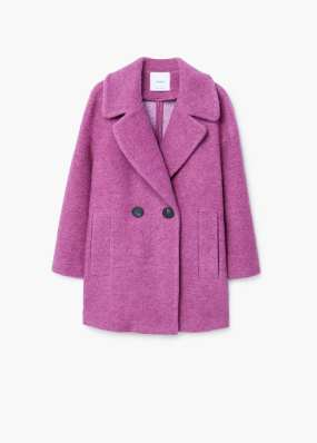 Mango purple coat