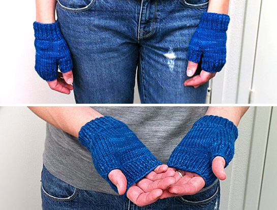 70 yard mitts hannah fettig knitbot quince pattern