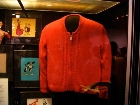 mister rogers cardigan sweater smithsonian