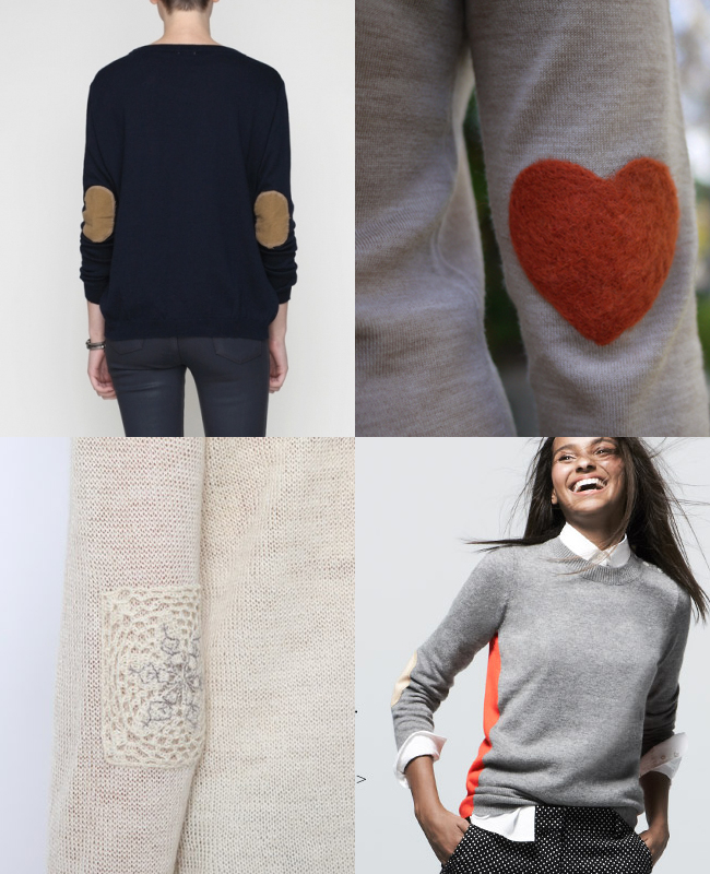 elbow patch sweaters phoebe honestlywtf dosa j. crew