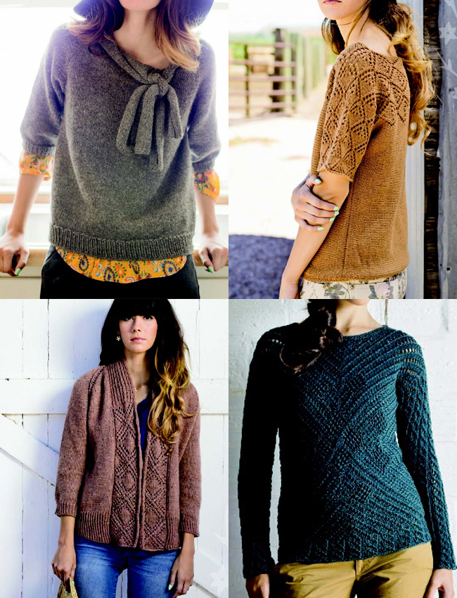 favorite sweaters from knitscene winter 2012