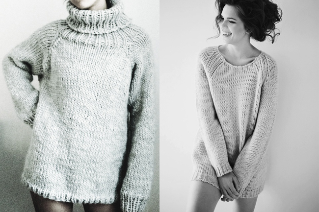 sexy bulky sweaters