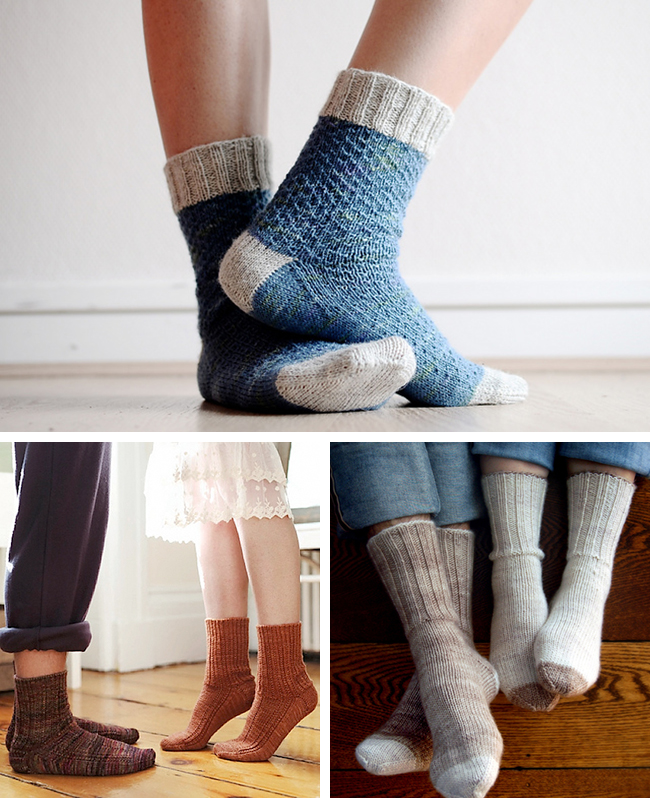 starter socks - great knitting patterns