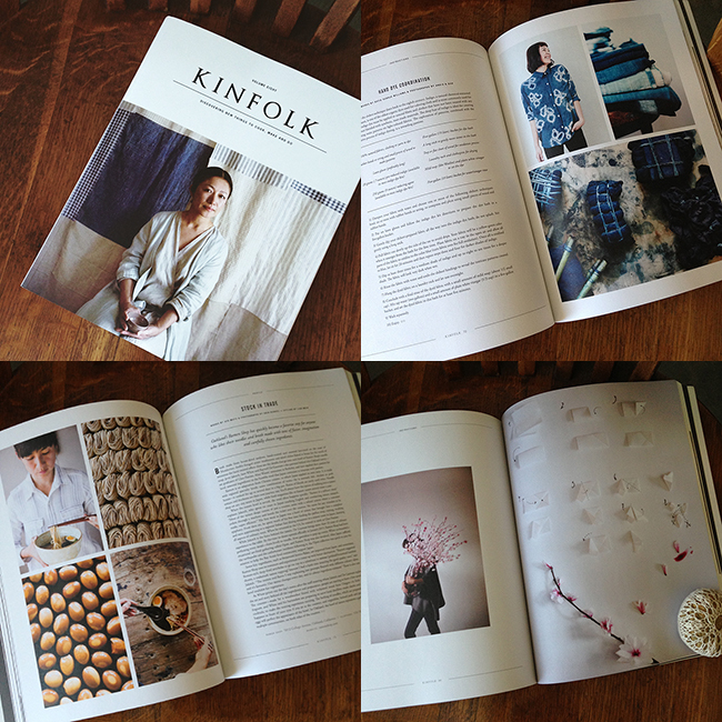 Kinfolk magazine, volume eight — available at Fringe Supply Co