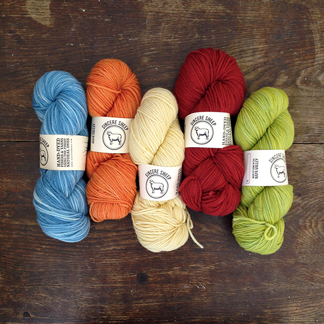 Sincere Sheep Shepherdess Worsted now available at Fringe Supply Co