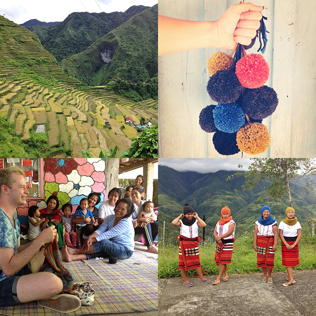 Ricefield Collective knitting school Ifugao Philippines