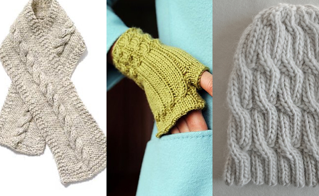 Great cable knitting patterns for new beginners