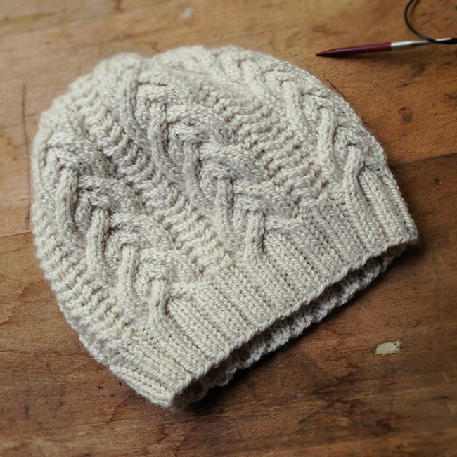 Perfect cable hat