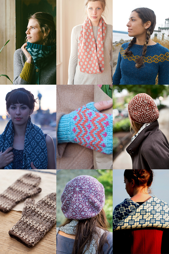 Colorwork knitting patterns for first-timers