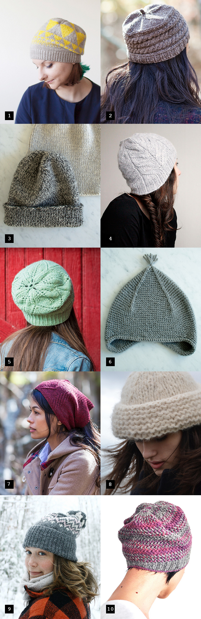 Best new hat patterns