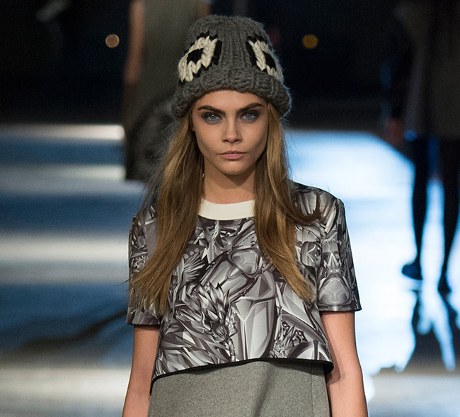 Wool and the Gang's runway beanie