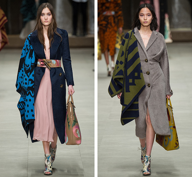 More of the best of Fall 2104: Burberry's ruanas
