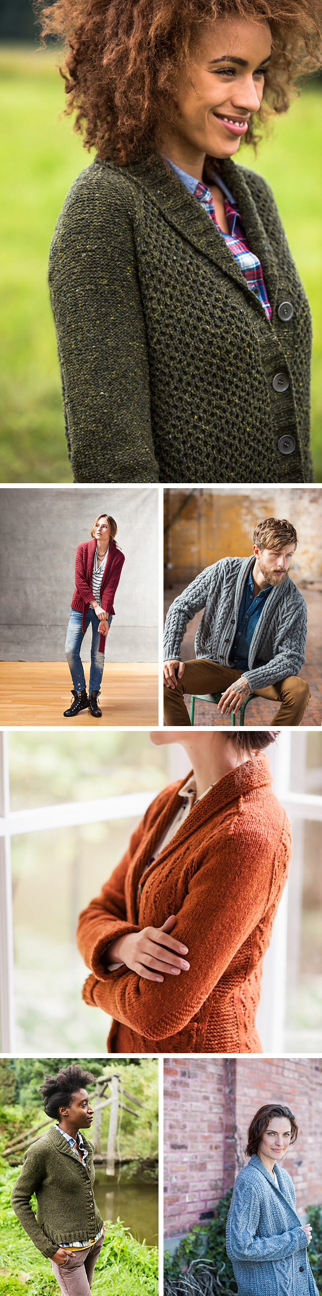New Favorites: Brooklyn Tweed's best shawl-collar cardigans