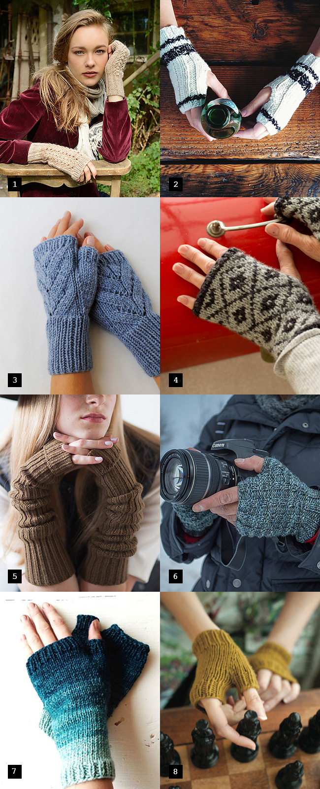 Holiday knitting cheat sheet: Warm hands, warm heart