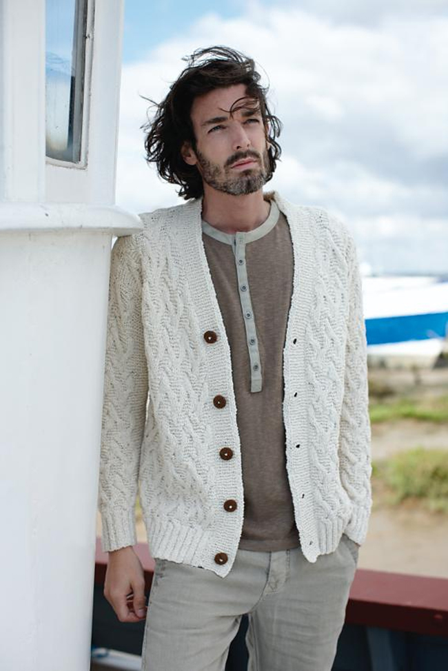 New Favorites: the perfect Summer aran sweater