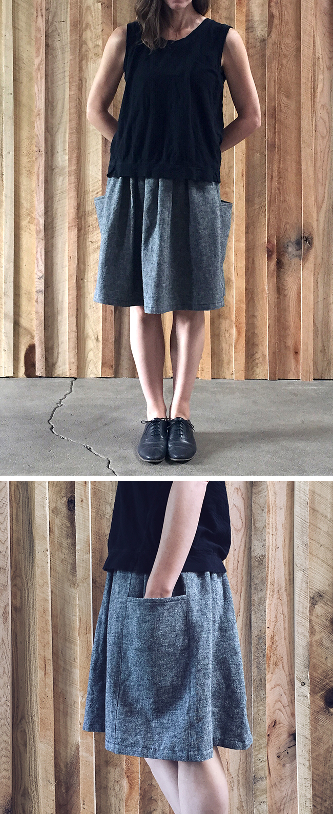 May make No. 1: the Gathered Skirt