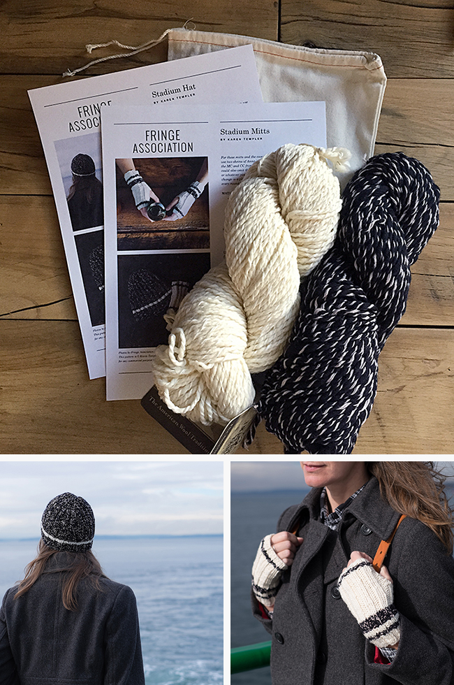 Quick holiday knits — in a kit!