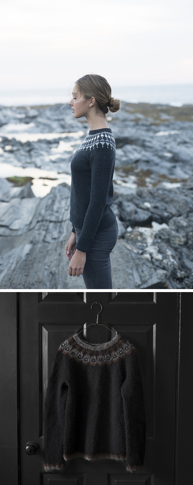 New Favorites: Dark yoke sweaters