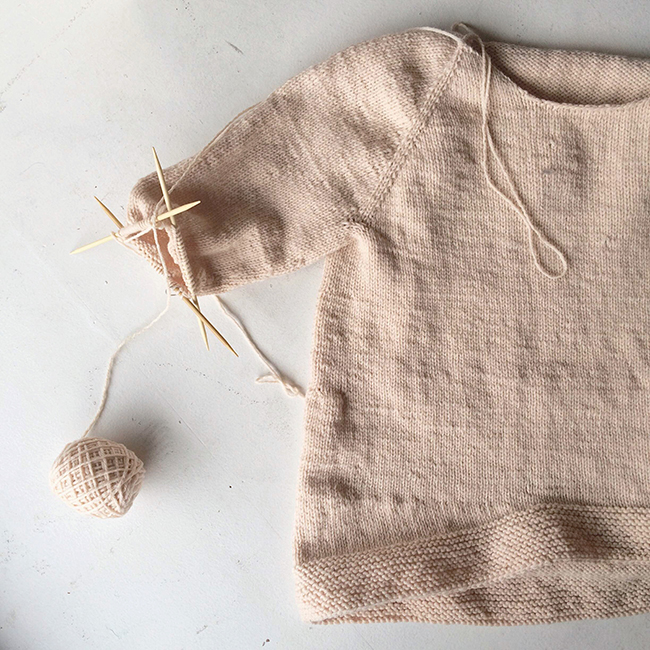 My First Sweater: Marlee Grace