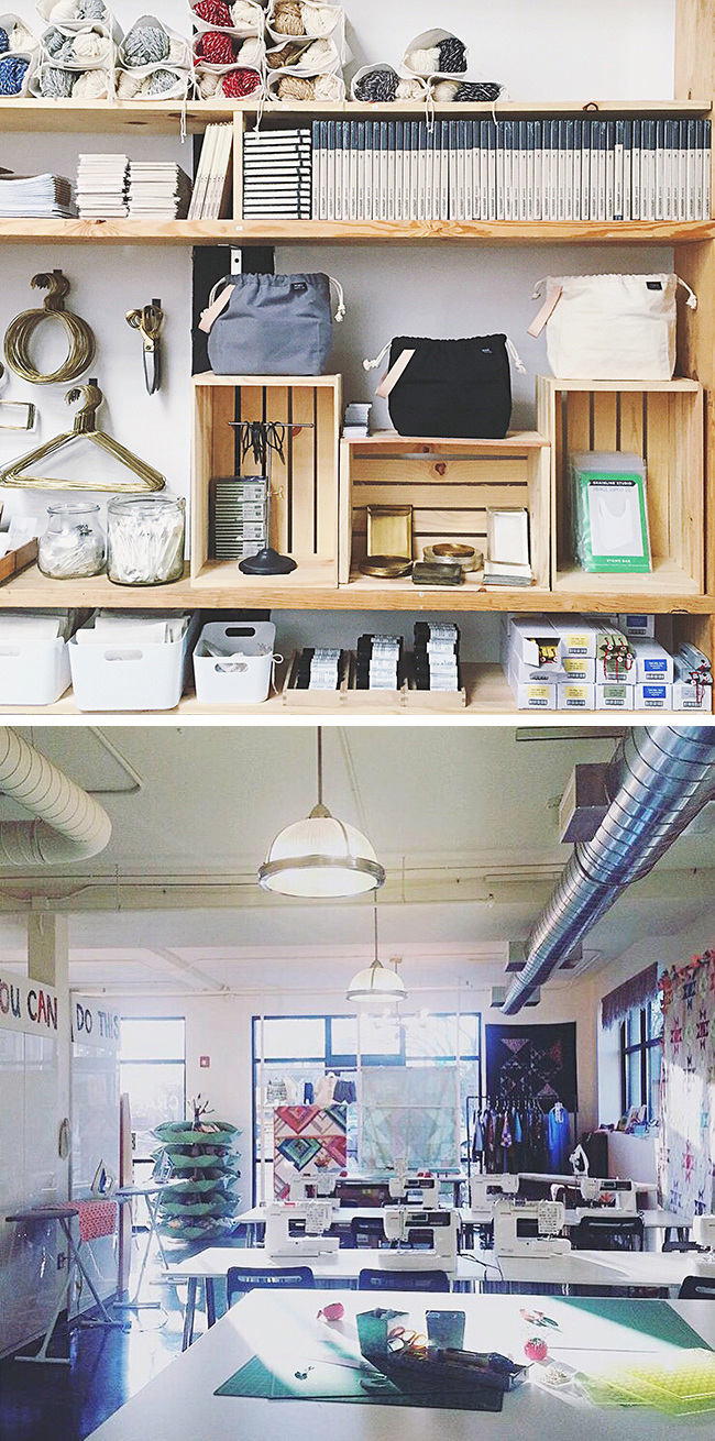 March news and events at Fringe Supply Co., Craft South and Stitches South!
