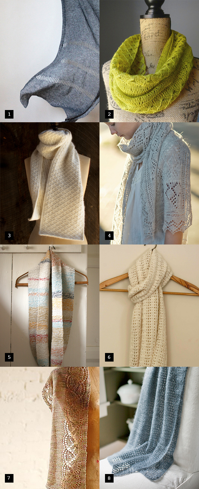 Spring-into-Summer scarves