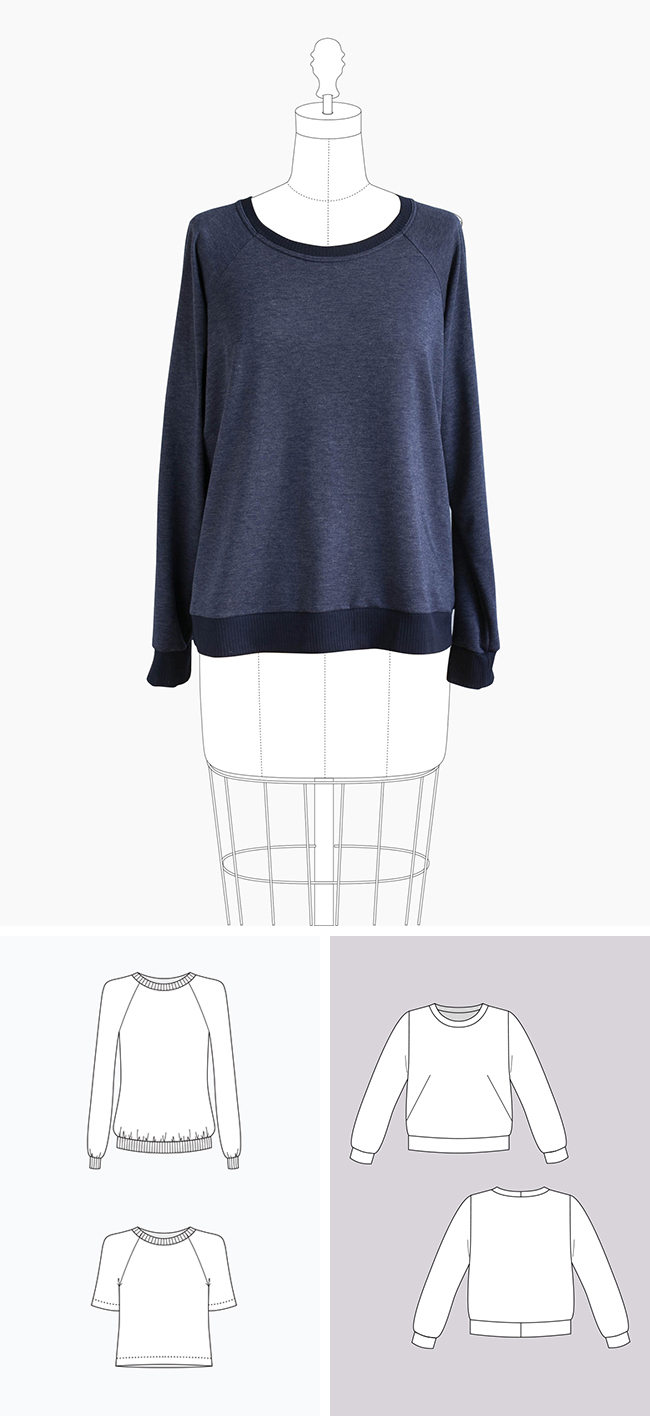 Make Your Own Basics: The sweatshirt