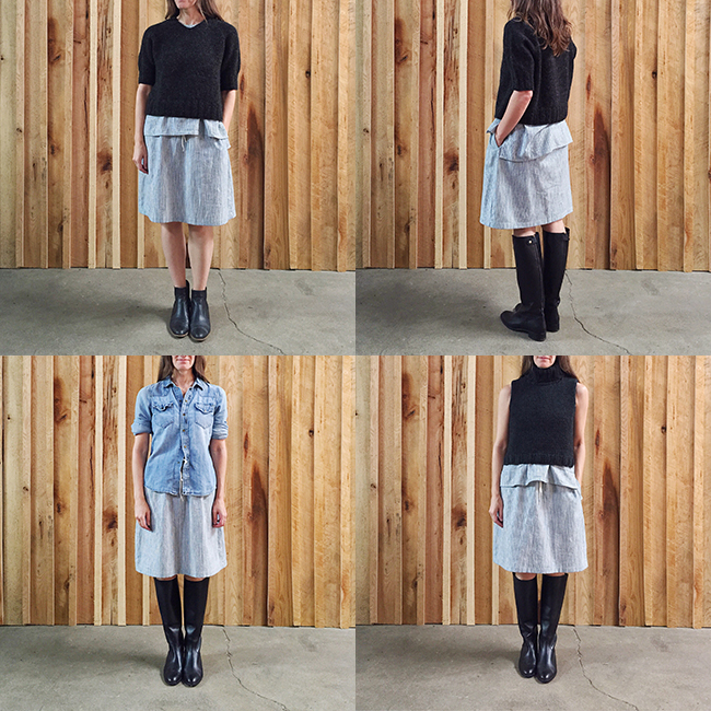 FOs : Adventure Tank and Seneca Skirt