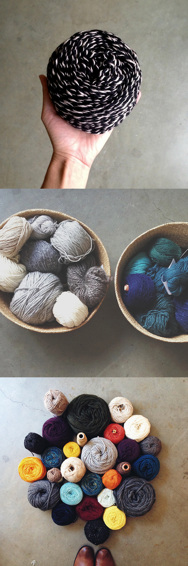 Q for You collected: Yarn management!