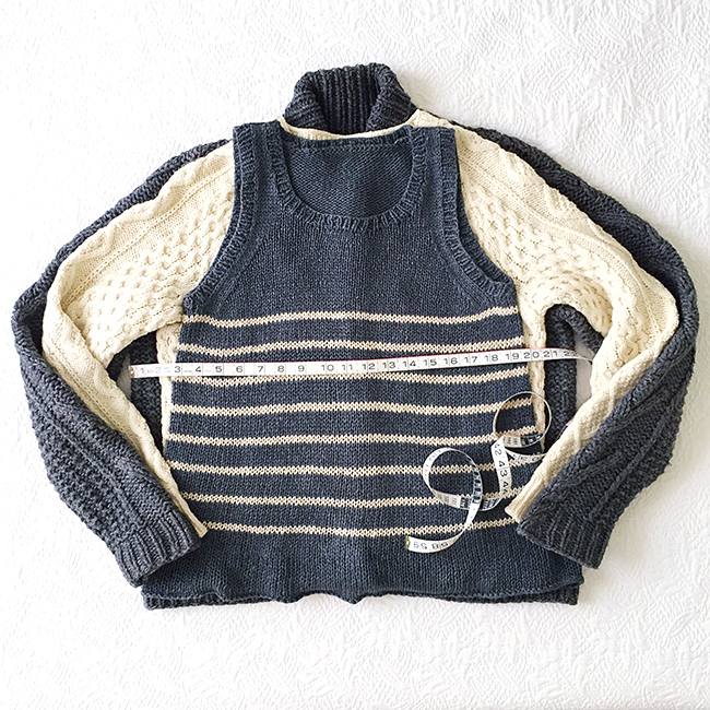4078d6ca5e8 How to knit the right size sweater - Fringe Association