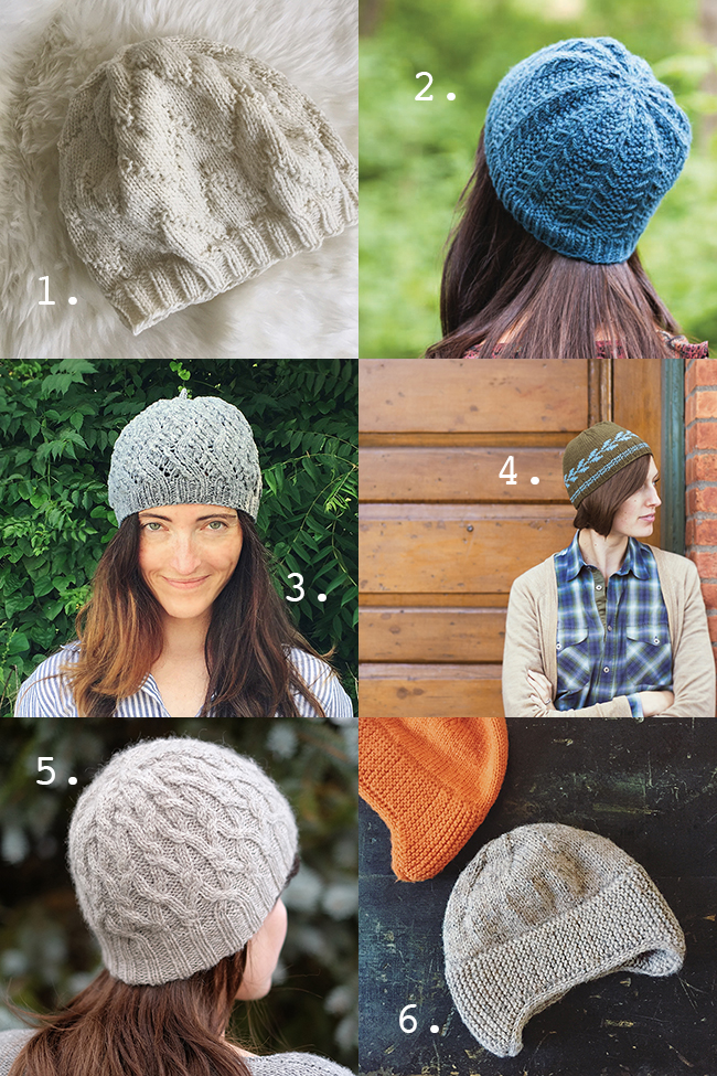 Free hat patterns for skill-building and gift-giving