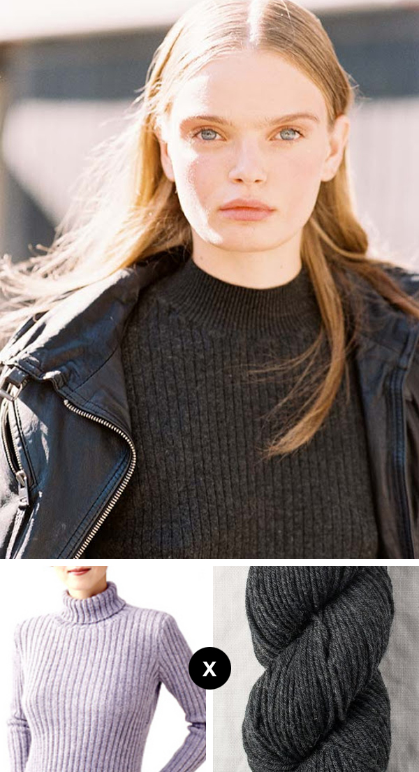 Knit the Look: Marthe Wiggers' vintage-chic pullover