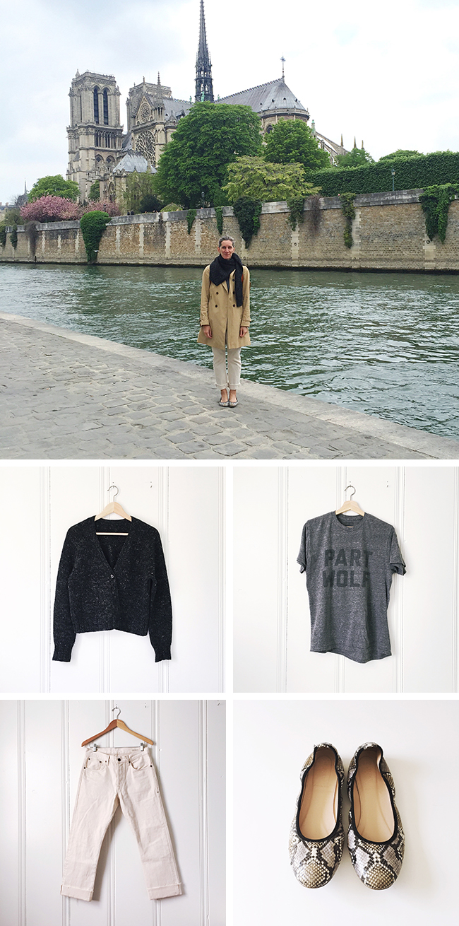 The Paris review and wardrobe travelogue