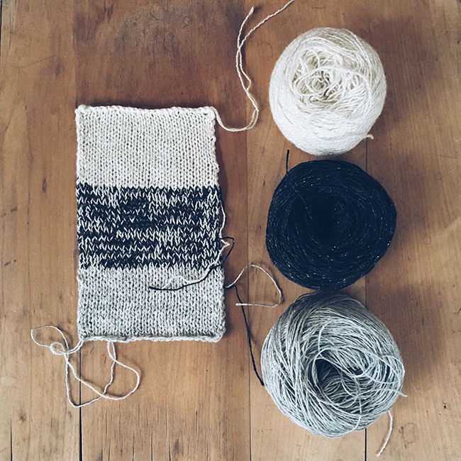 What I Know About: Holding yarns together