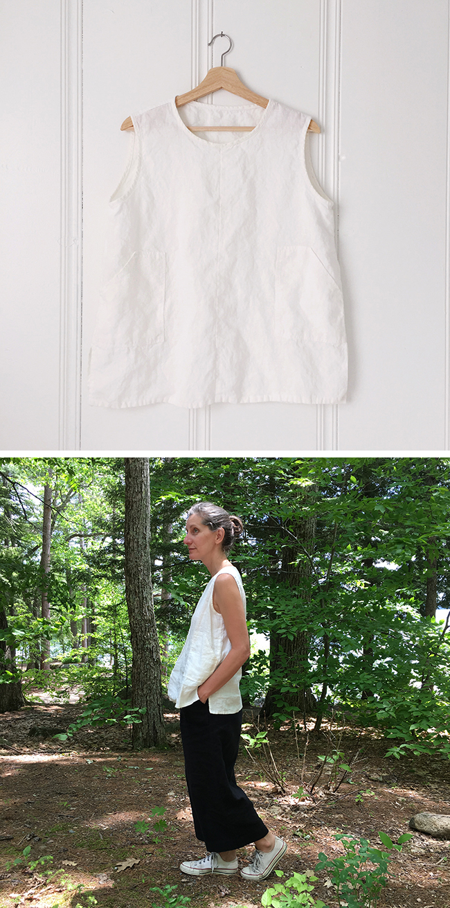 2017 FO-5 : The white linen shell