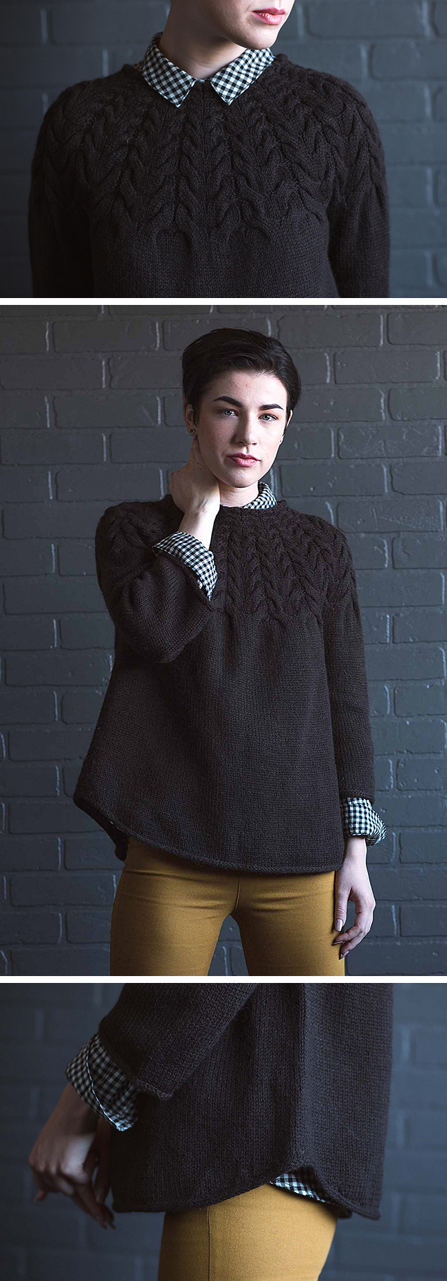New Favorites: Angelina Pullover pattern by Mary Anne Benedetto