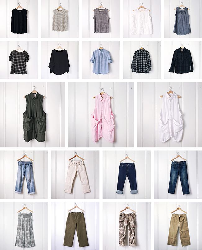 Fall closet inventory