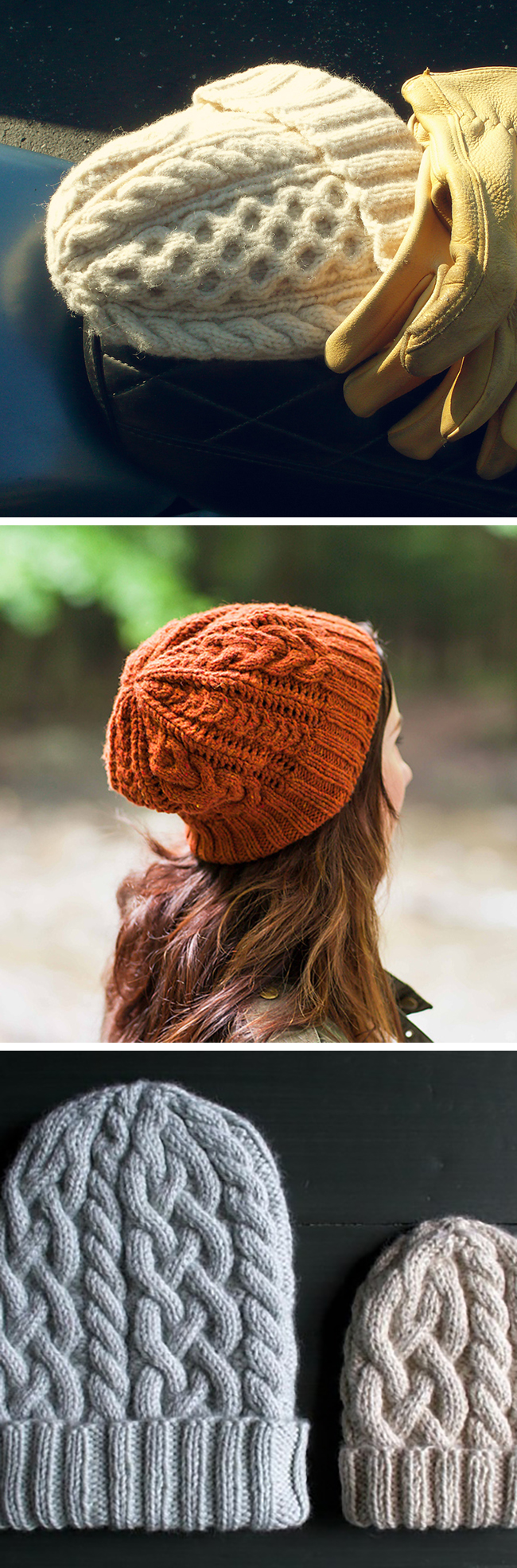 New Favorites: Aran-style hats