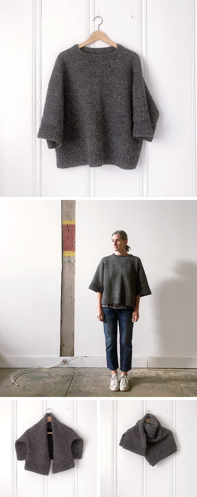 Instant sweater No.1: Big Rubble