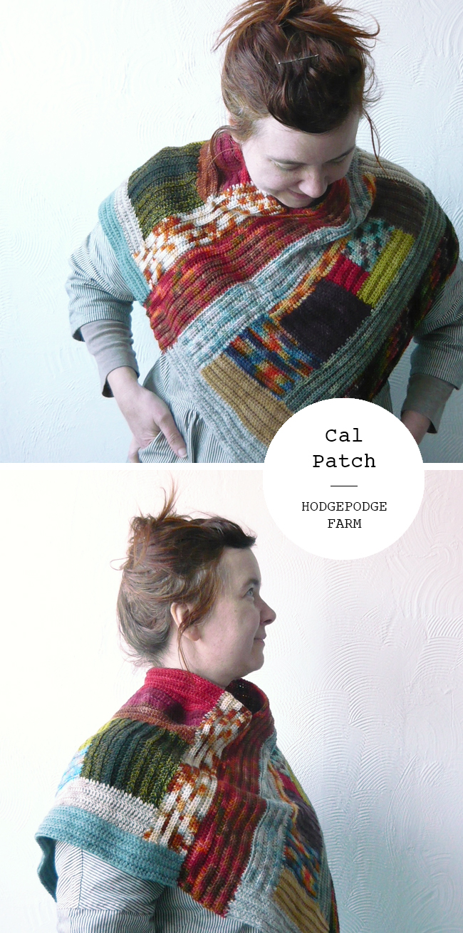 Log Cabin Make-along FO No. 4 : Cal Patch