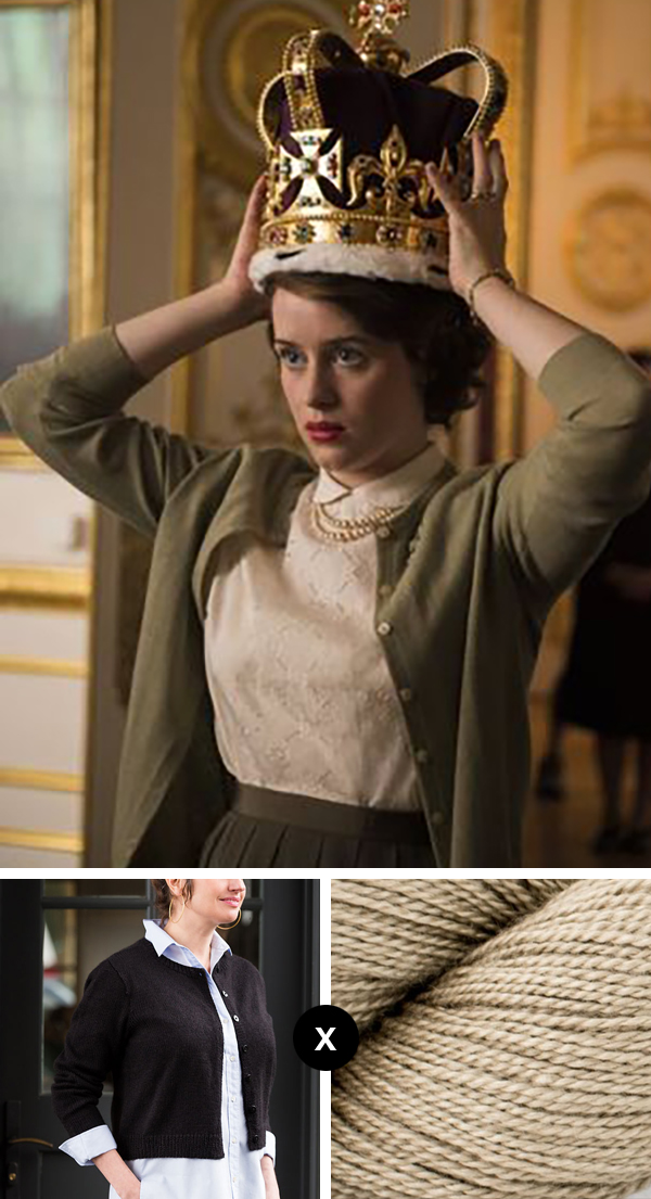 Knit the Look: The Crown's cardigans