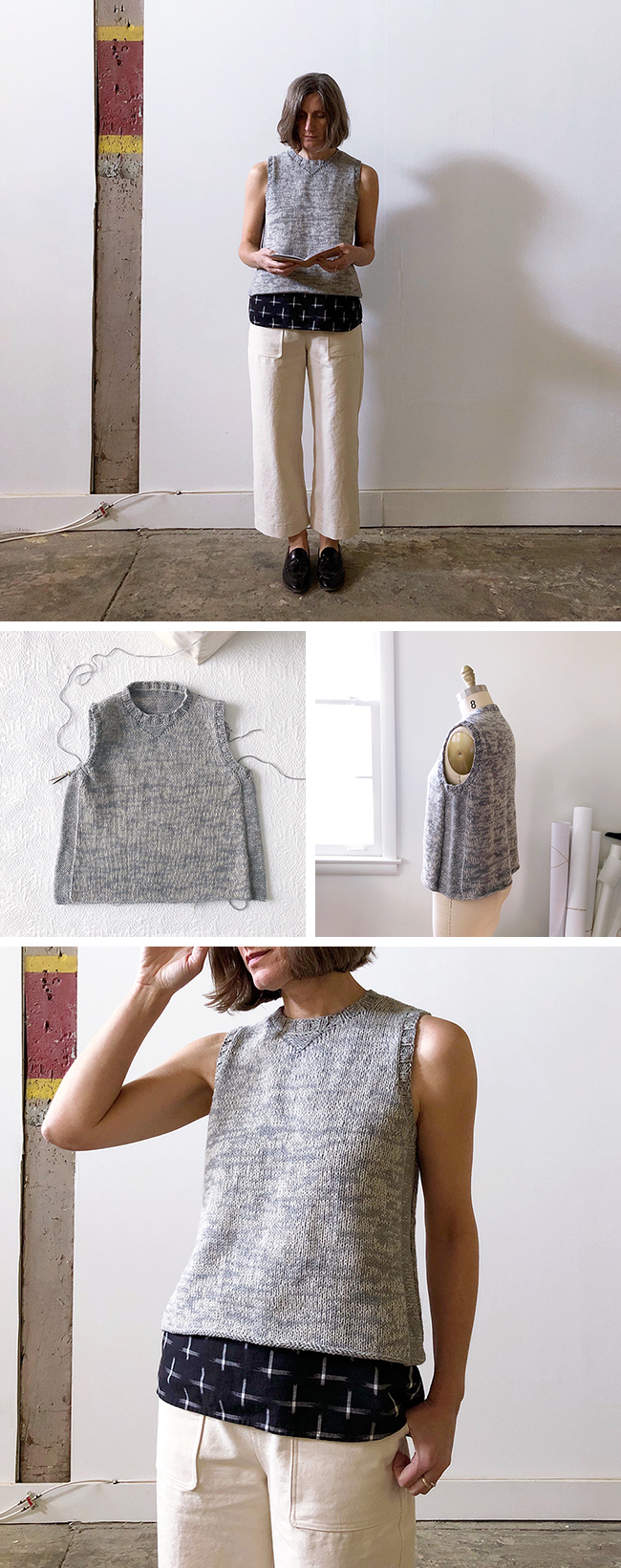 The sweatshirt vest (2018 FO-13)