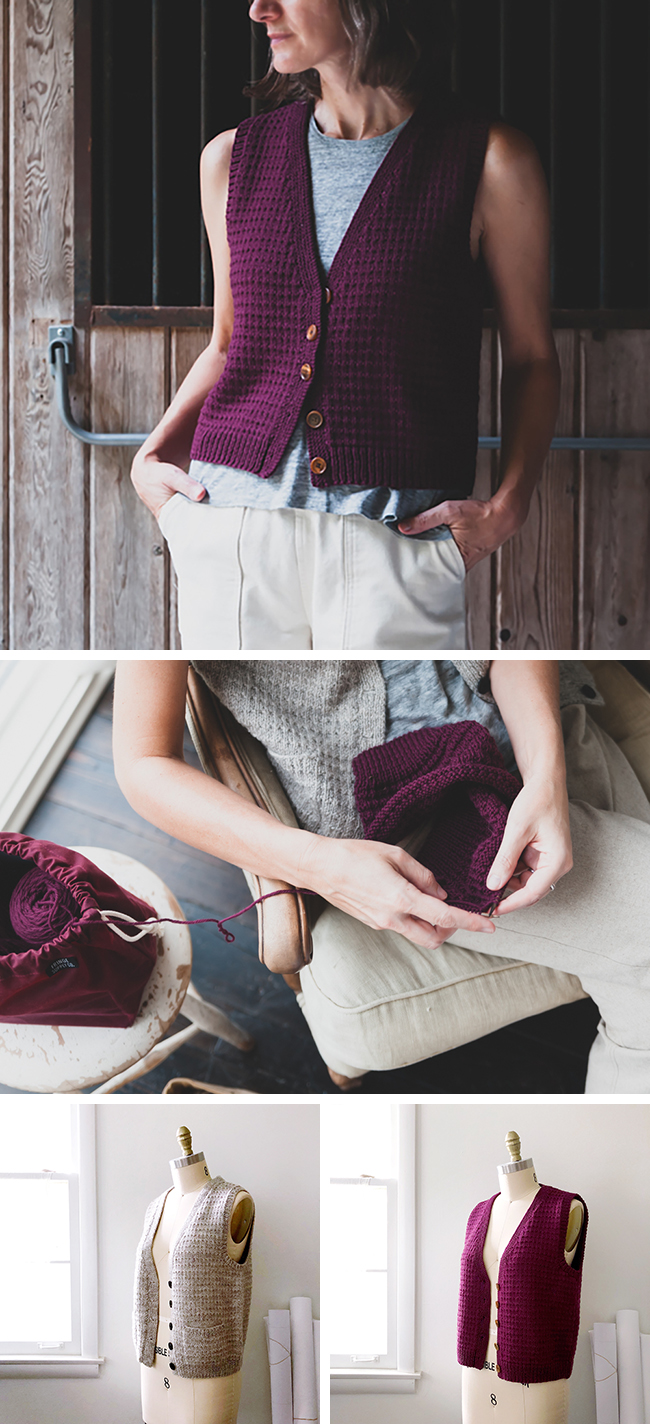 Anna Vest pattern, now available!