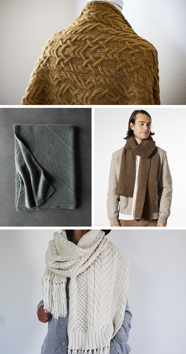 New Favorites: Mega wraps (knitting patterns)