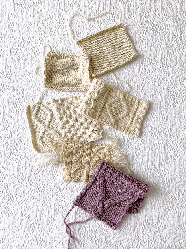 Top 5 reasons to knit a swatch