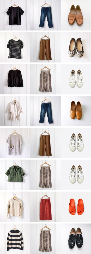 Pre-Fall Wardrobe Planning: Linen meets wool (eventually)