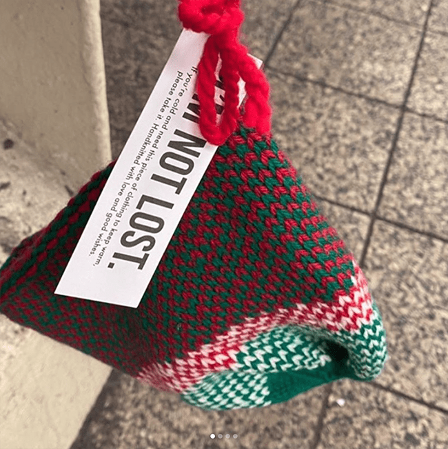 Merry Elsewheres — yarny links for your holiday week perusal