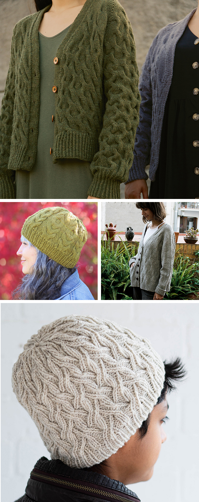 New Favorites: Texture, please! (knitting patterns)