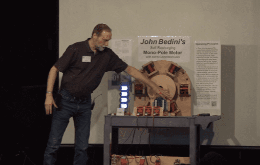 * NEW RELEASE * JOHN BEDINI'S SELF-RECHARGING MOTOR BY PETER LINDEMANN