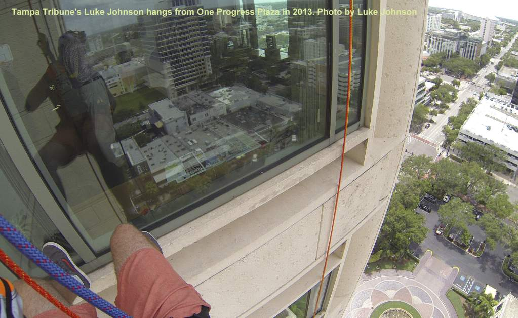 Florida Author to Rappel High-Rise