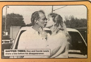 Don and Carole in better days
